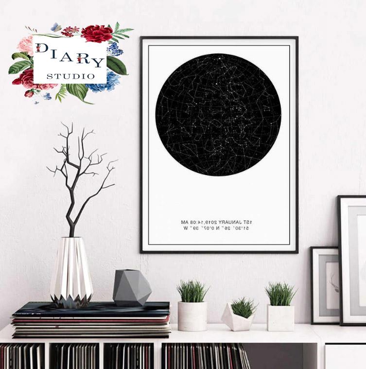 کادو خاص تابلو ماه شب تولد هدیه ای خاص برای تولد
